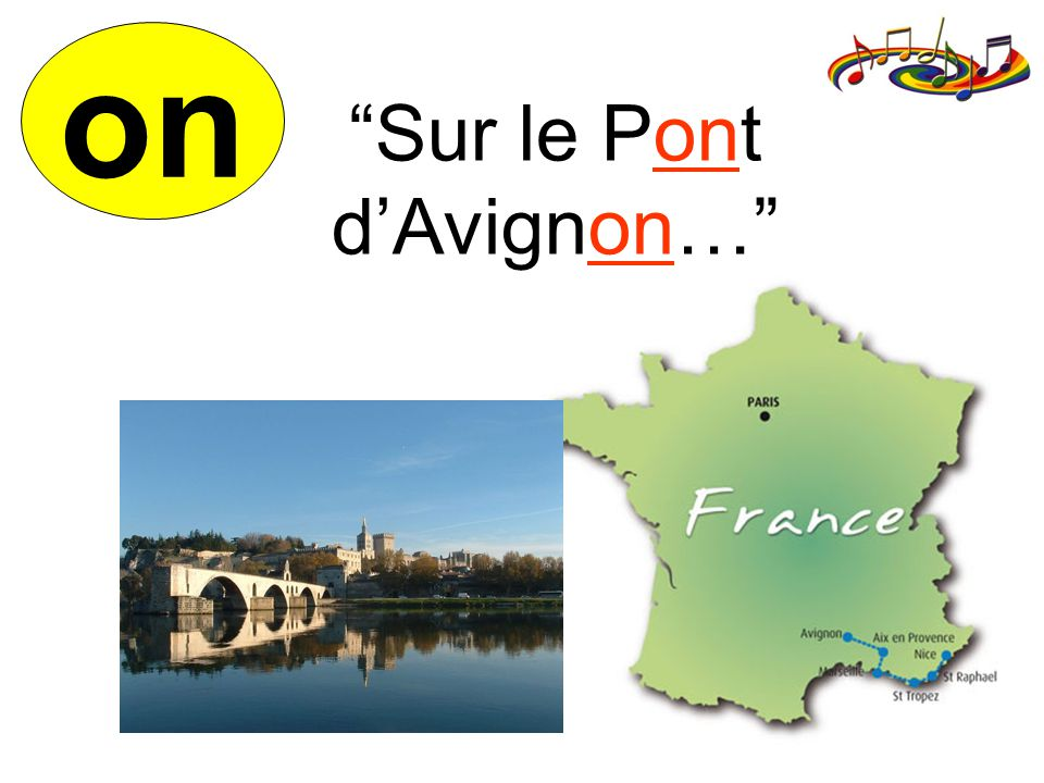 on Sur le Pont dAvignon…