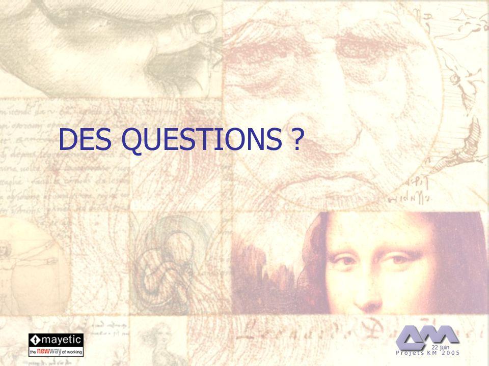 22/06/2005 35 DES QUESTIONS ?