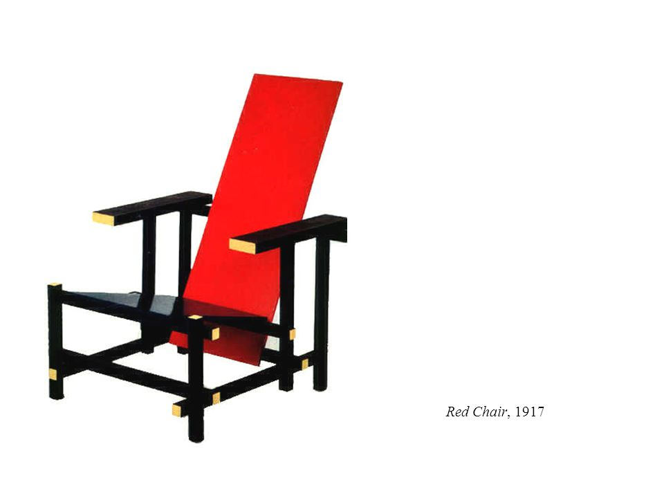 Red Chair, 1917