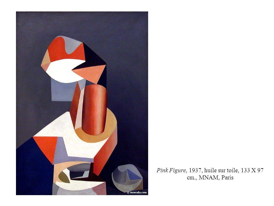 Pink Figure, 1937, huile sur toile, 133 X 97 cm., MNAM, Paris