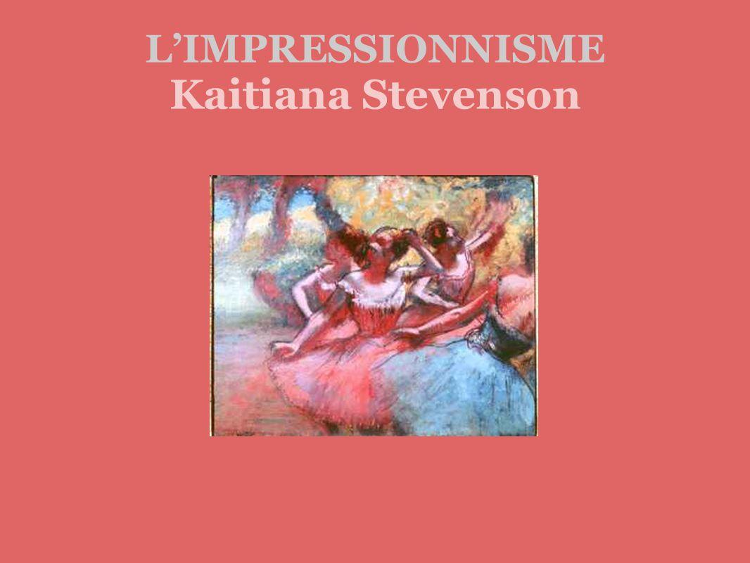 LIMPRESSIONNISME Kaitiana Stevenson