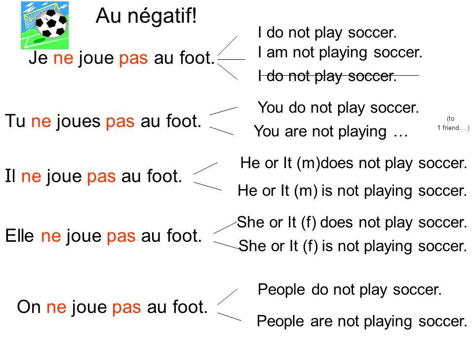Les devoirs 1)Conjugate any –er infinitive.( NOT, or jouer or dessiner.
