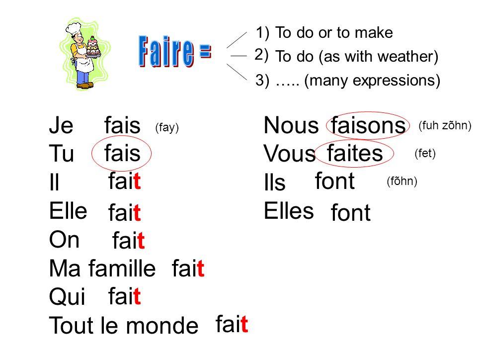 34) Ne ten fais pas.(nuh tõhn fay pah) Dont worry about it.