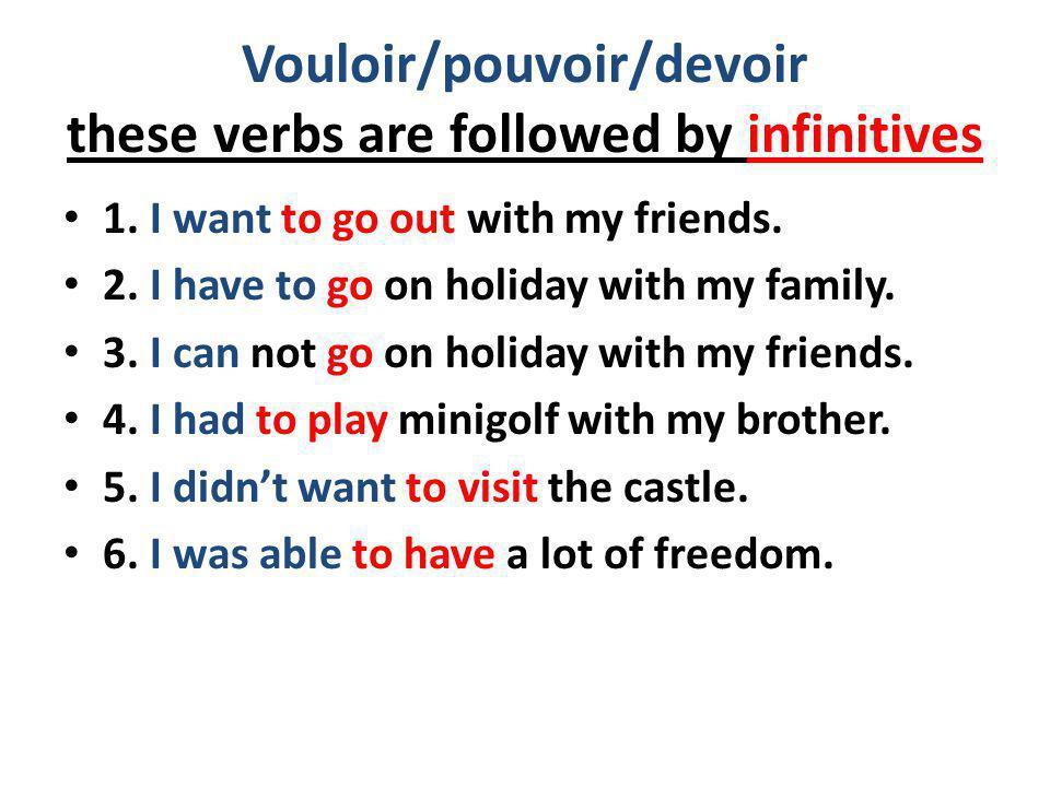 Write up your answers to the following questions Avec qui es-tu allé(e) en vacances lannée dernière.