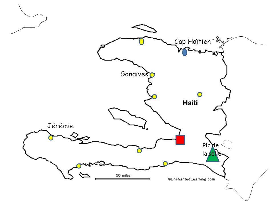 Pic de la selle Gonaïves Cap Haïtien Jérémie
