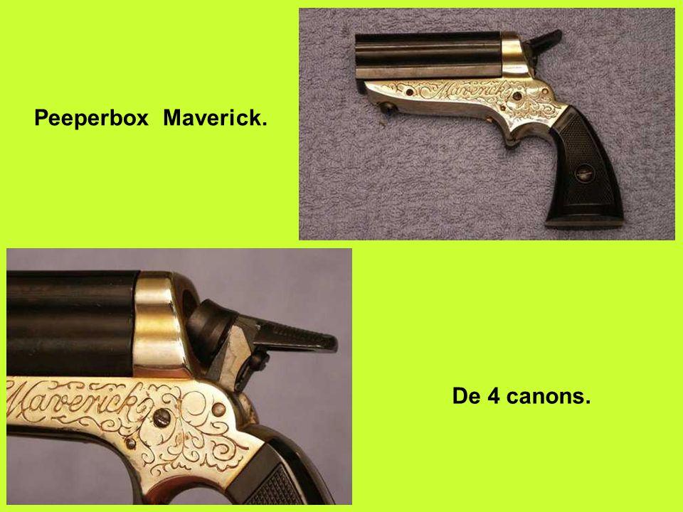 Peeperbox Maverick. De 4 canons.
