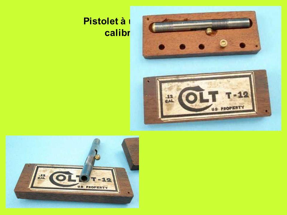 Pistolet à un coup de Colt, calibre.12 (3mm)