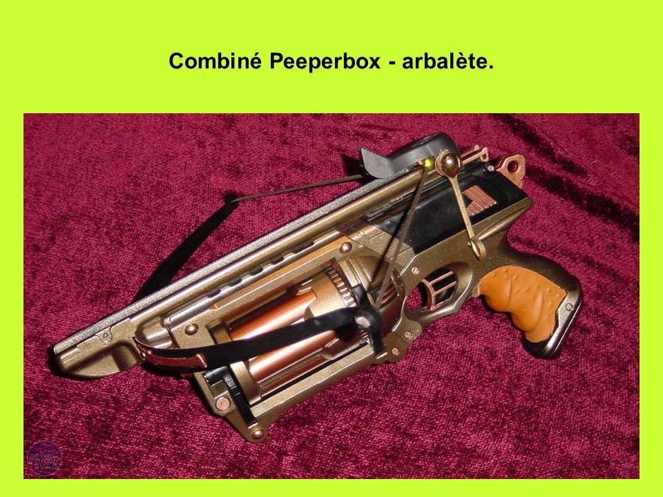 Combiné Peeperbox - arbalète.