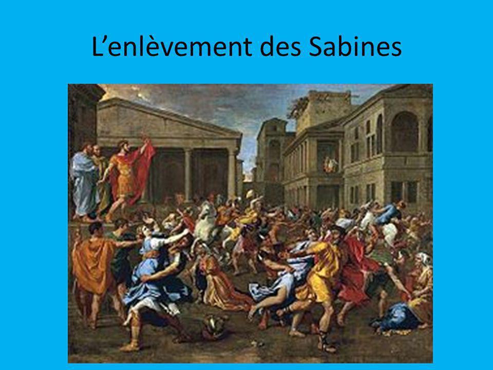 Lenlèvement des Sabines