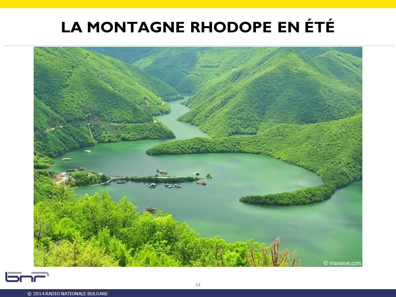 © 2014 RADIO NATIONALE BULGARE LA MONTAGNE RHODOPE EN ÉTÉ 13