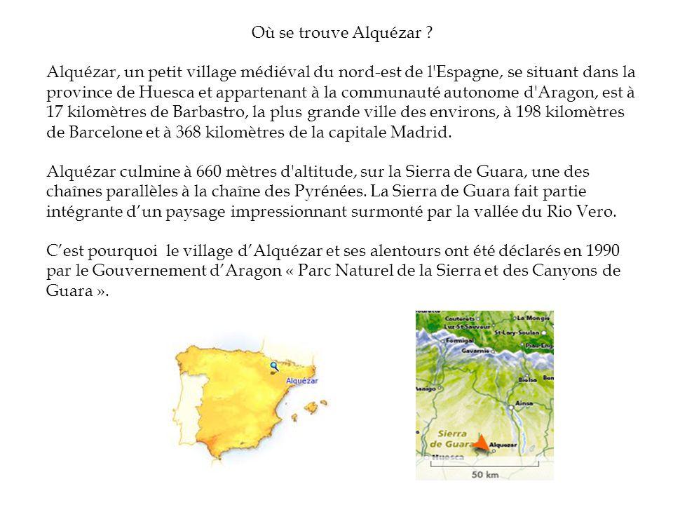 Où se trouve Alquézar ? Alquézar, un petit village médiéval du nord-est de l'Espagne, se situant dans la province de Huesca et appartenant à la commun