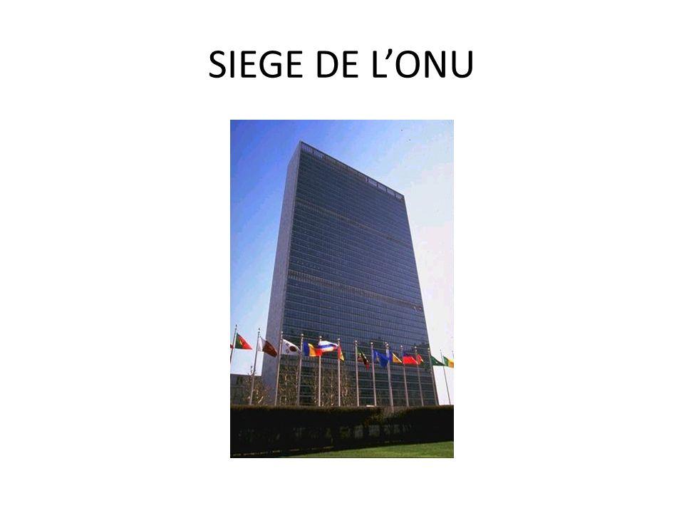 SIEGE DE LONU