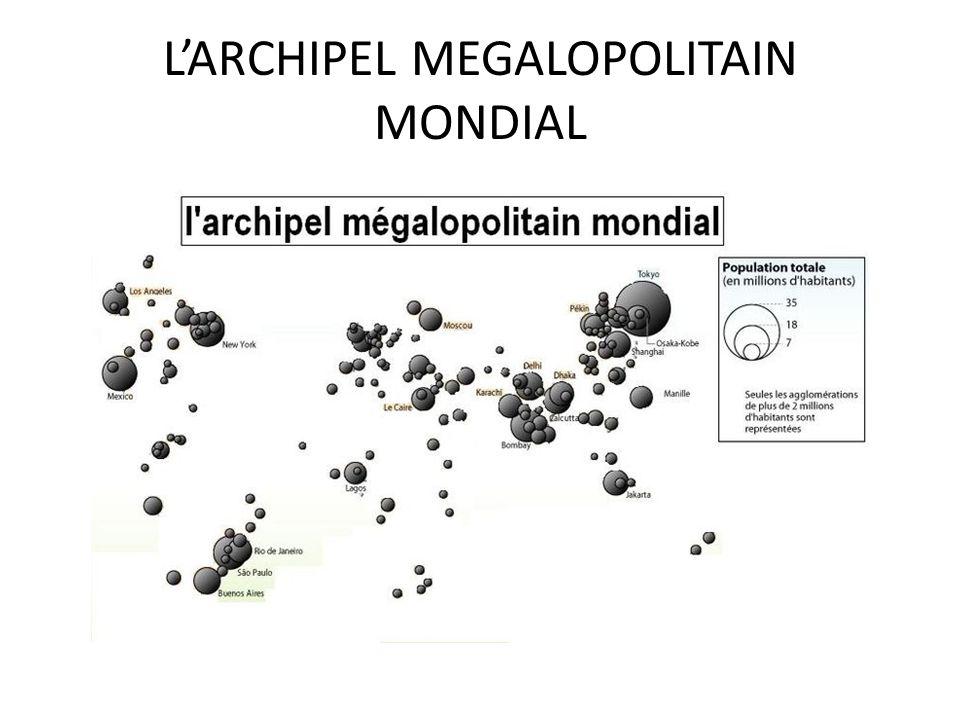 LARCHIPEL MEGALOPOLITAIN MONDIAL