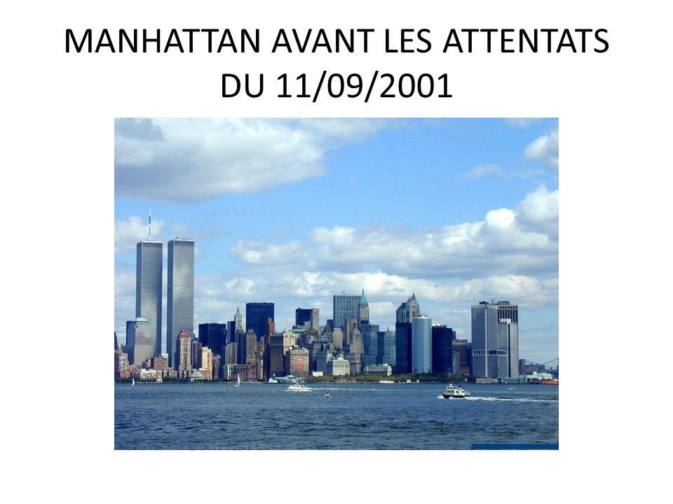 MANHATTAN AVANT LES ATTENTATS DU 11/09/2001
