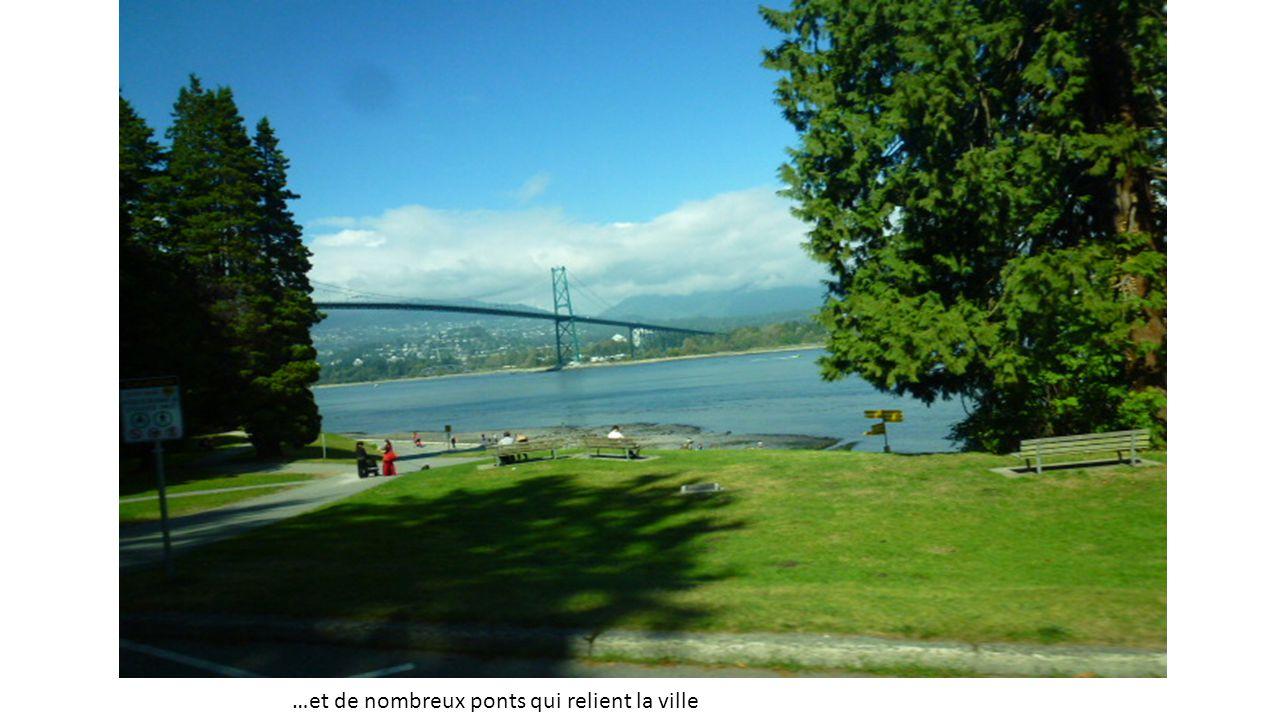 …et de nombreux ponts qui relient la ville