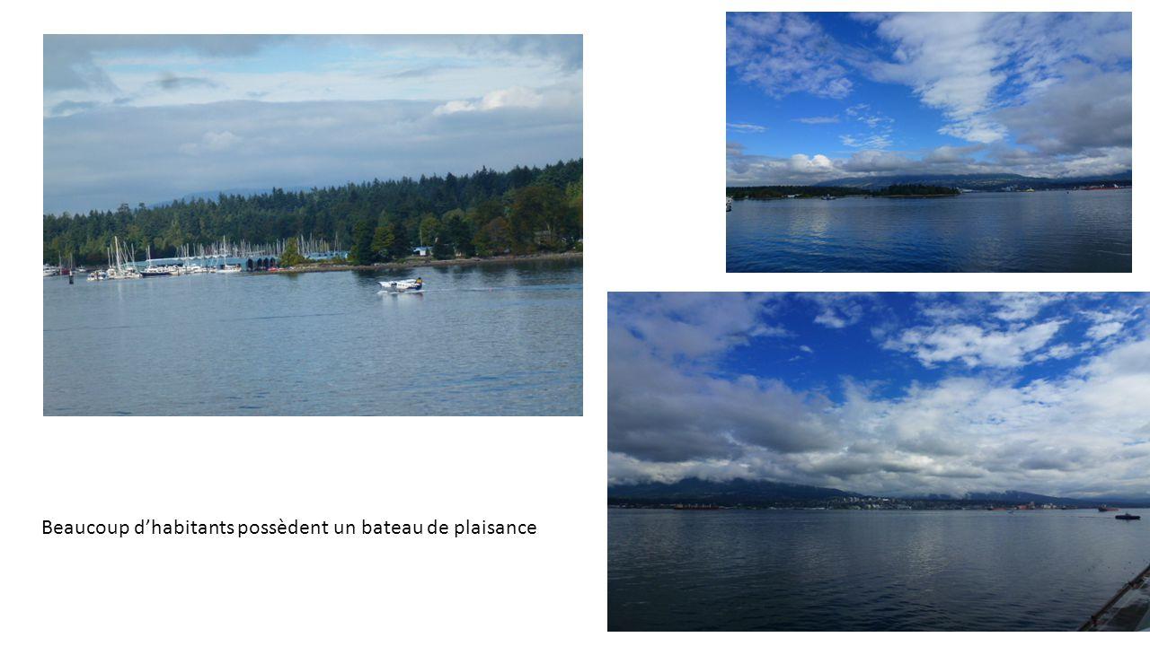 Mais Vancouver est surtout un grand port de commerce et de pêche