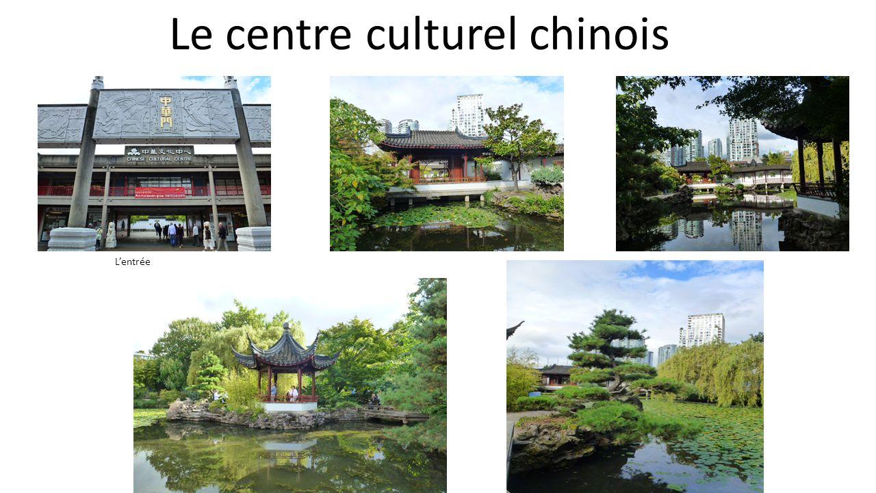 Le centre culturel chinois Lentrée