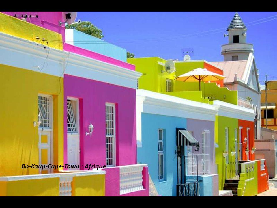 Bo-Kaap-Cape-Town : Afrique