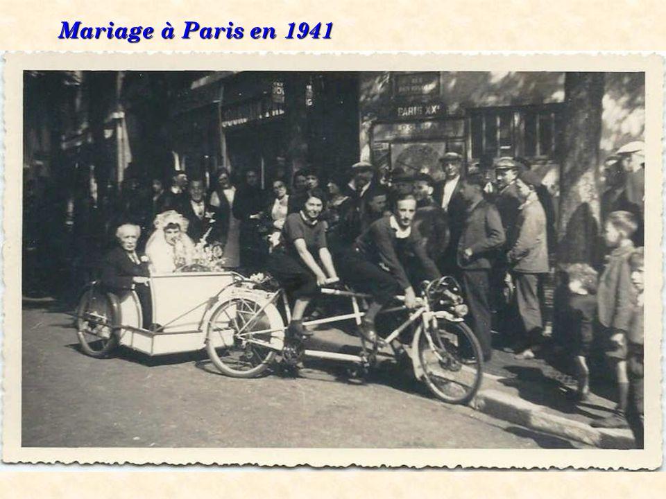 1930 Un tandem « côte à côte »