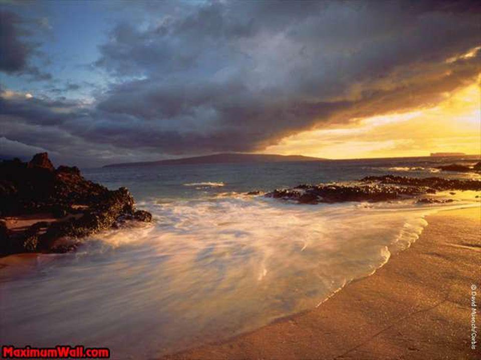 Les belles plages du monde avec un poème de Christian Blanchard.