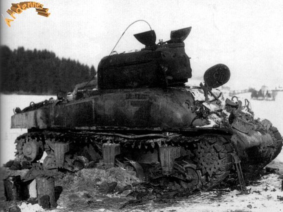 Tank Sherman près de Saint-Vith