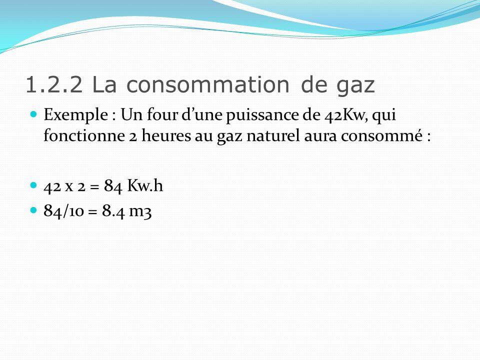 1.2.3 Linstallation du Gaz Tout comme lelectricité, la sécurité dune installation de gaz est très réglementée.