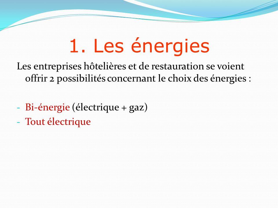 1.1 LÉlectricité Lélectricité est la seule source dénergie capable de répondre à tous les besoins dune entreprise.