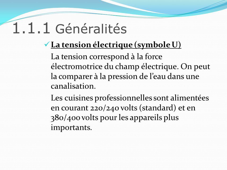 1.1.2 LInstallation électrique Linstallation électrique regroupe lensemble des éléments qui permet de diffuser lélectricité dans létablissement.