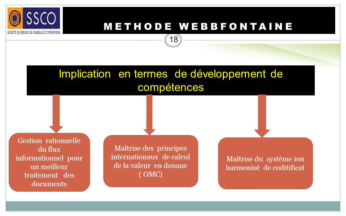 METHODE WEBBFONTAINE 17 Le Ruling Center est un concept nouveau sinscrivant dans la stratégie du gouvernement ivoirien de renforcer le rôle de la doua