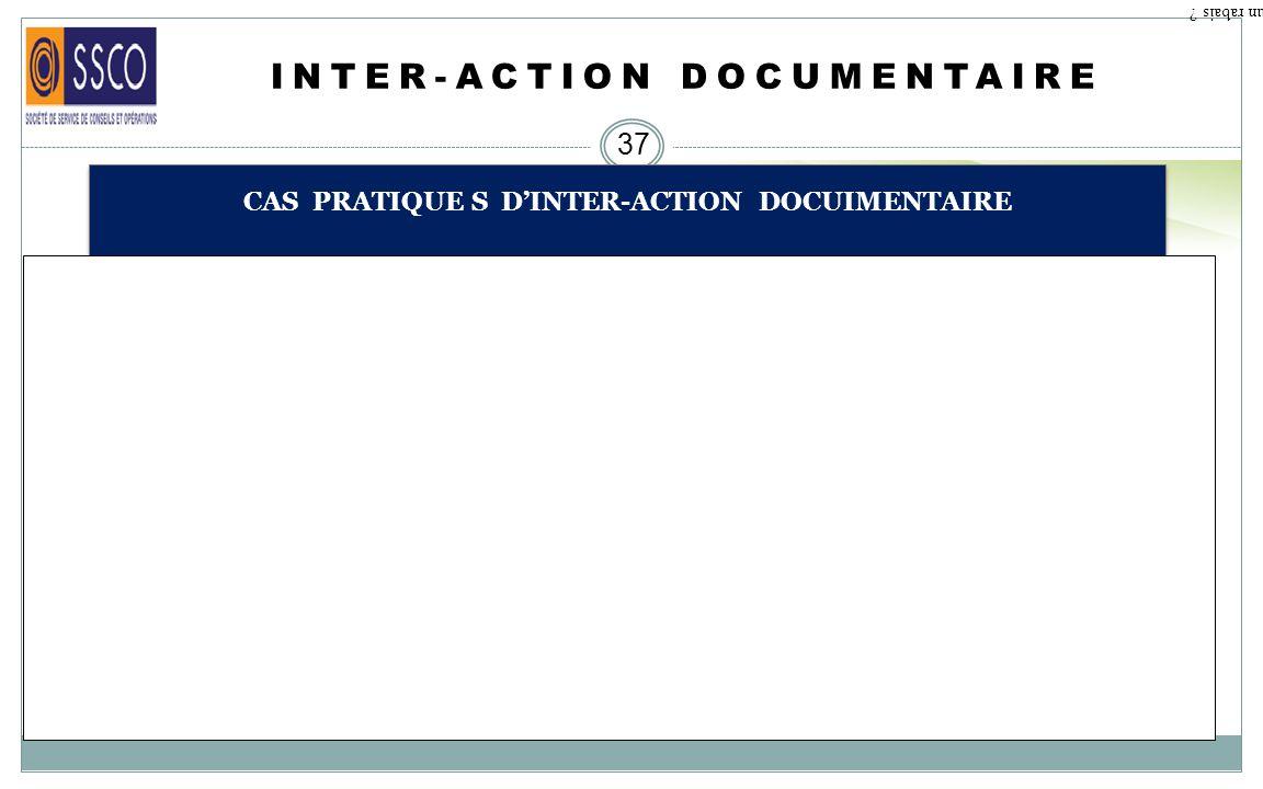 INTER-ACTION DOCUMENTAIRE 36 CAS PRATIQUE S DINTER-ACTION DOCUMENTAIRE Qu est ce qu un rabais ? Une marchandise embarquée le 9 septembre 2013 avec un