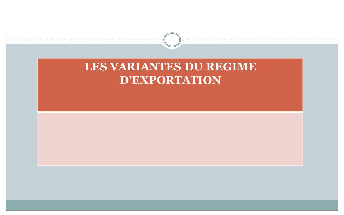 REGIMES SUSPENSIFS OU ECONOMIQUES NouveauAncien IM6D53 réimportation ensuite dexportation temporaire (EX2 IM6D53 réimportation en suite de perfectionn