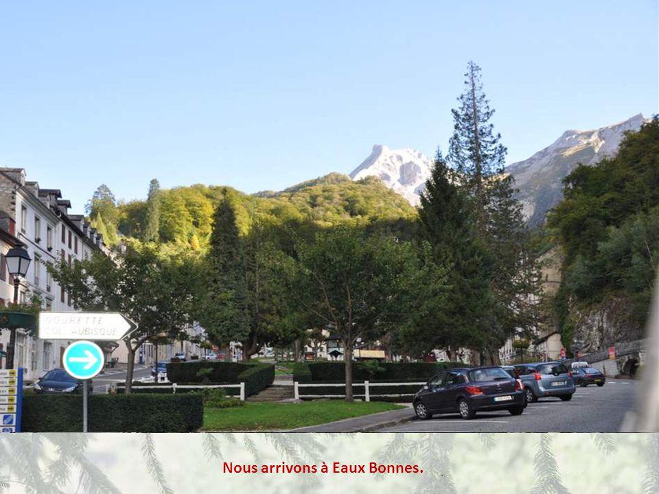 Regardez comme Laruns est beau, vu de la route du Col !