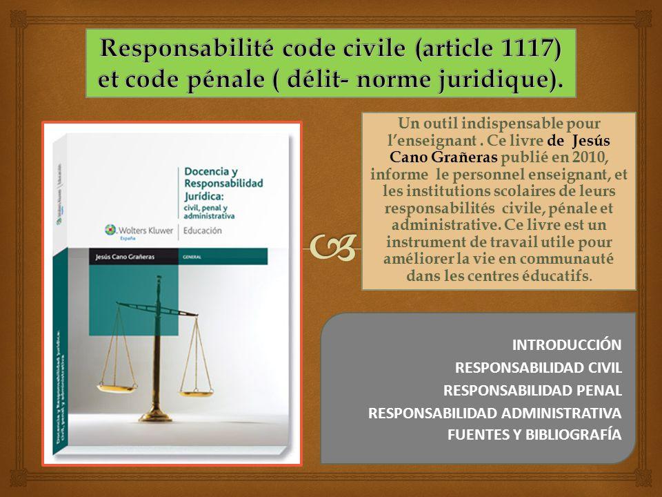 Un outil indispensable pour lenseignant. Ce livre de Jesús Cano Grañeras publié en 2010, informe le personnel enseignant, et les institutions scolaire