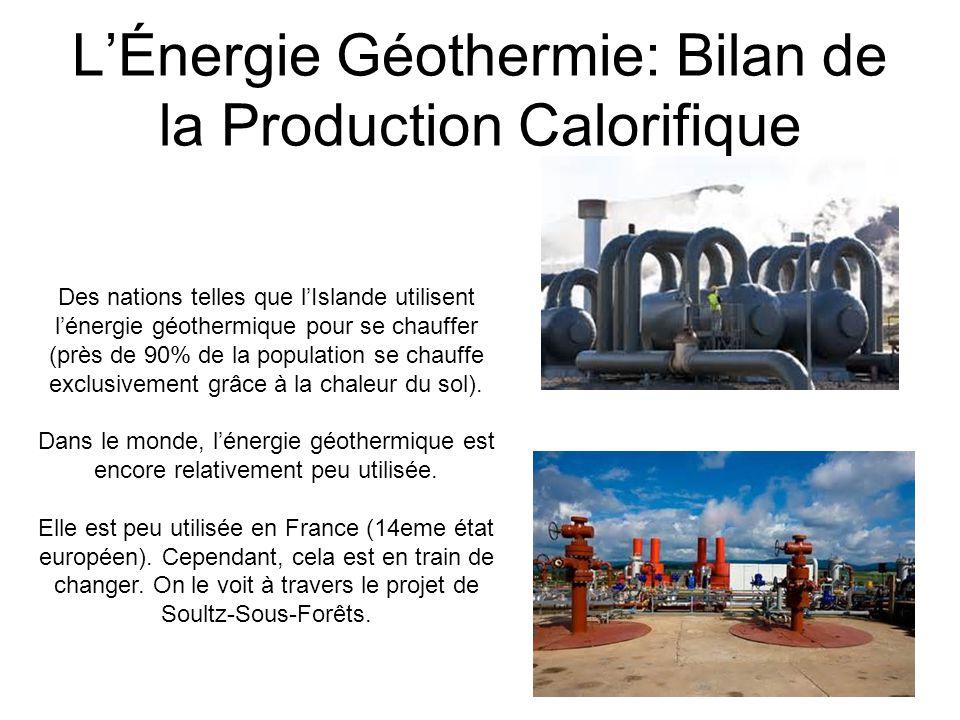 LEnergie Géothermique: Avantageuse...Lénergie géothermique est une énergie quasiment infinie.
