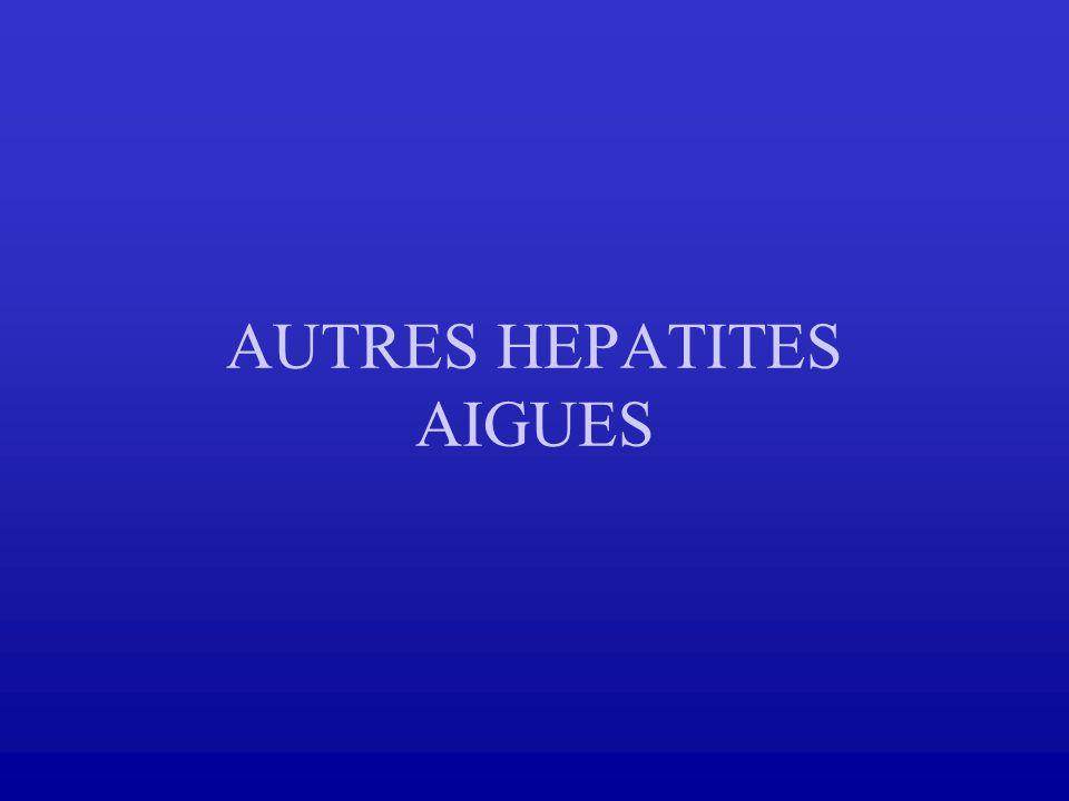 AUTRES HEPATITES AIGUES