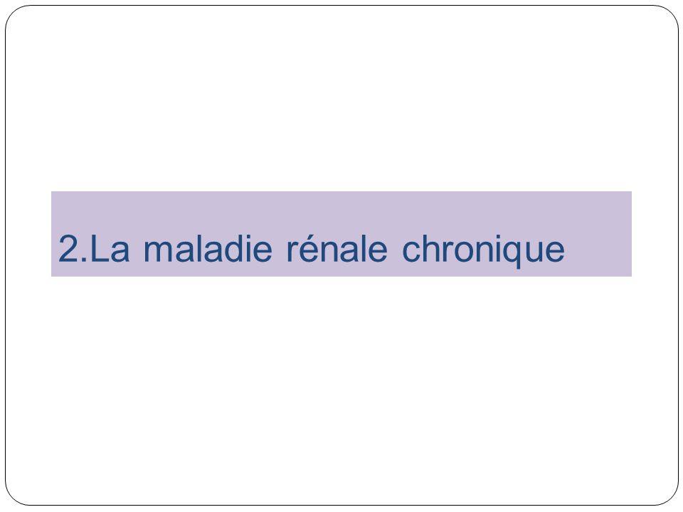 2.La maladie rénale chronique