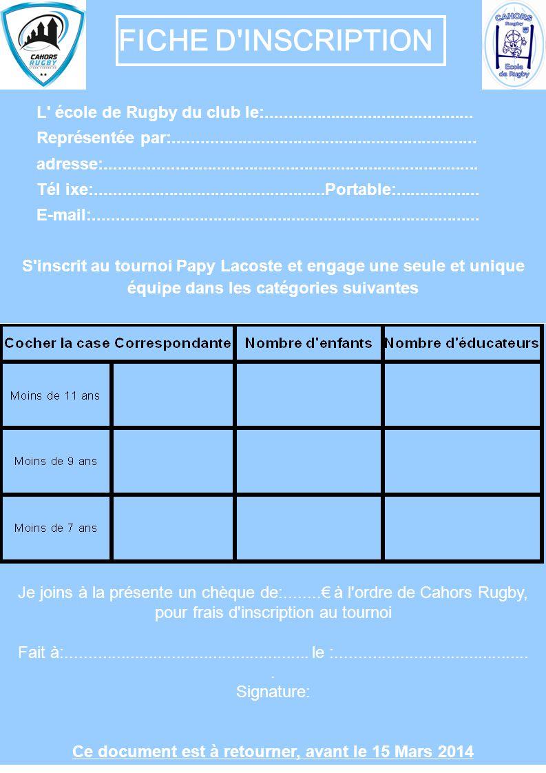 Cahors Rugby Siège Social: Stade Lucien DESPRATS 46000 CAHORS Tél: 05-65-35-32-66 Fax: 05-65-20-23-05 Stade Lucien DESPRATS Route de Brive Direction Paris – Limoges Bergerac Route de Rodez Direction Villefranche de Rouergue Route de Montauban - Agen Direction Toulouse N 44° 27 28.8 E 1°2633.547