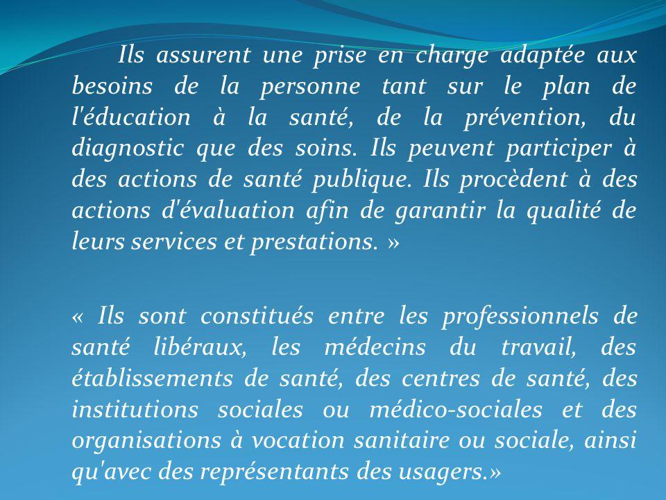 Avec le décret nº 2002-1463 du 17 décembre 2002, le Code de la Santé Publique définit, dans son article D766-1-2, les caractéristiques à remplir par un réseau de santé pour quil puisse être éligible à un financement public, notamment à la dotation nationale ou régionale de développement des réseaux..