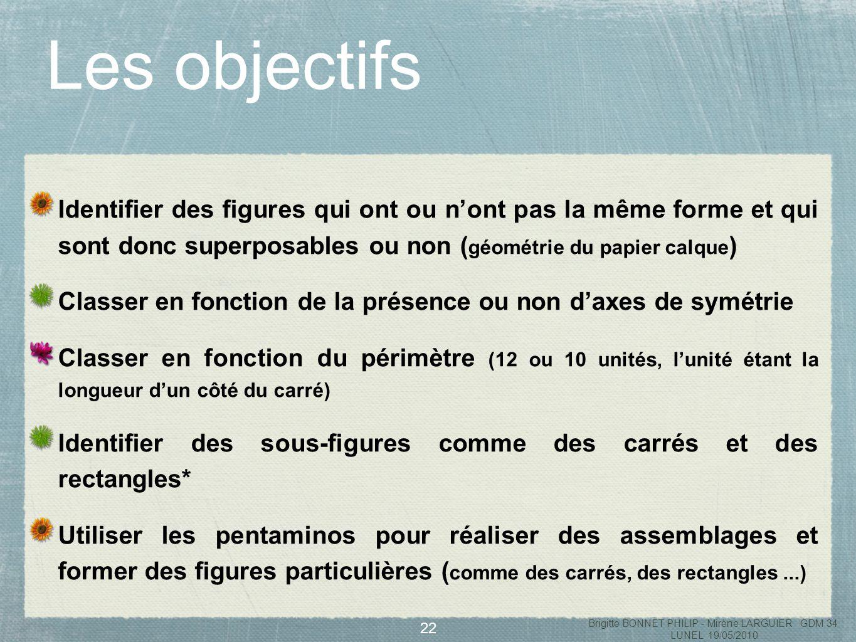 23 des rectangles dautres formes Brigitte BONNET PHILIP - Mirène LARGUIER GDM 34 LUNEL 19/05/2010