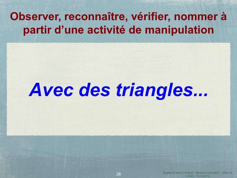 27 Brigitte BONNET PHILIP - Mirène LARGUIER GDM 34 LUNEL 19/05/2010