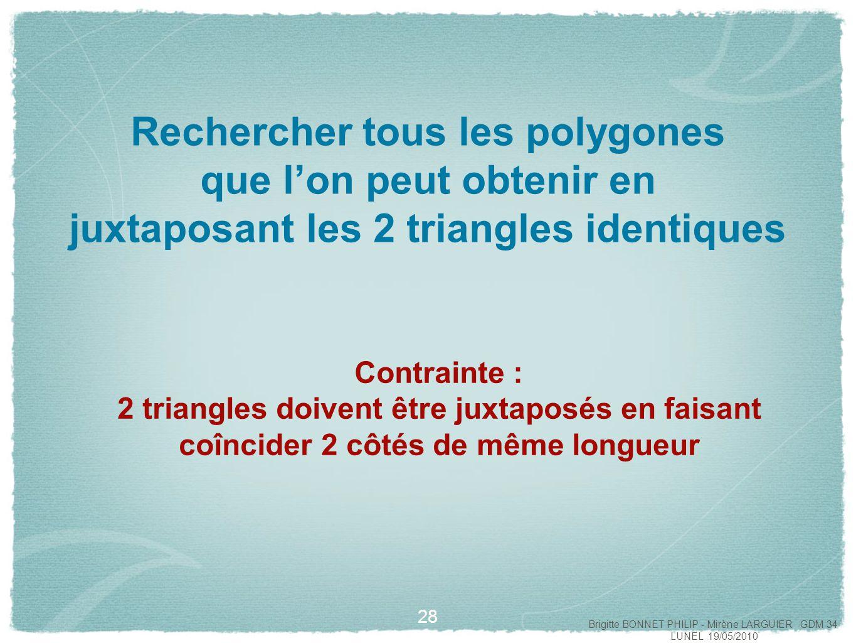 29 Brigitte BONNET PHILIP - Mirène LARGUIER GDM 34 LUNEL 19/05/2010