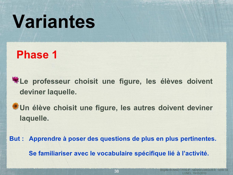 39 Phase 2 Une carte par groupe : ==> chaque groupe doit rédiger « la carte didentité » de la figure qui lui a été confiée.