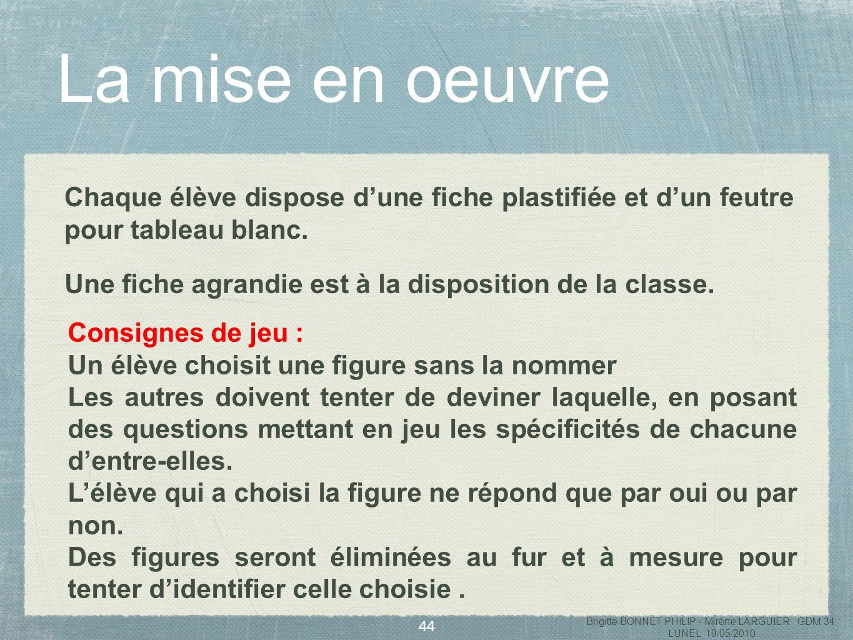 45 Brigitte BONNET PHILIP - Mirène LARGUIER GDM 34 LUNEL 19/05/2010