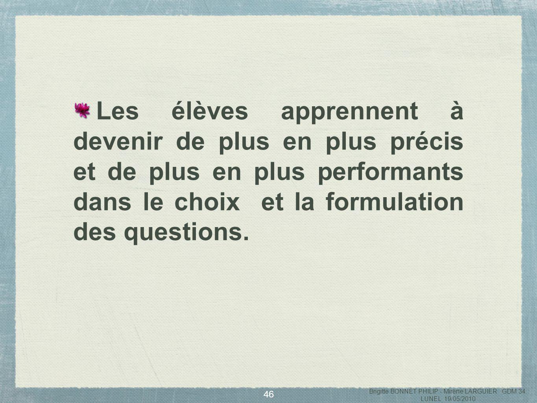 47 Brigitte BONNET PHILIP - Mirène LARGUIER GDM 34 LUNEL 19/05/2010