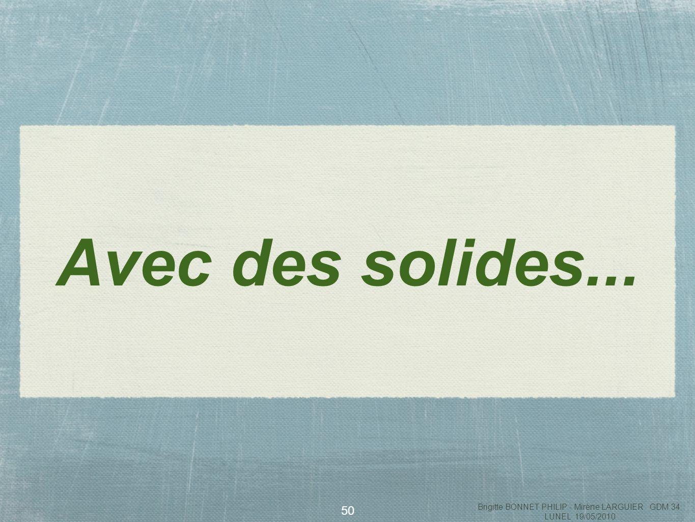 51 «La main dans le sac» Brigitte BONNET PHILIP - Mirène LARGUIER GDM 34 LUNEL 19/05/2010