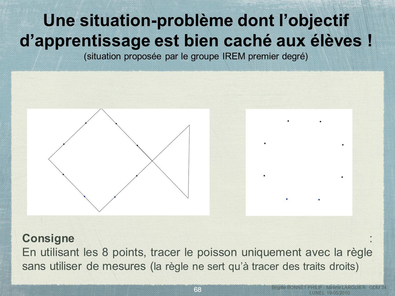 69 Lalignement : un outil de résolution du problème des huit points.