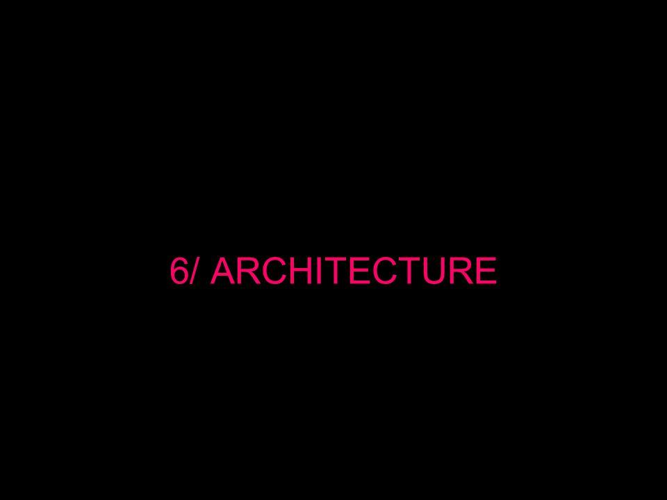 6/ ARCHITECTURE