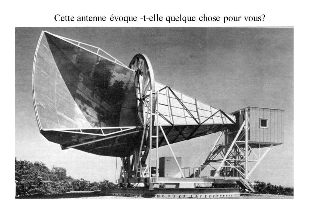 Cette antenne évoque -t-elle quelque chose pour vous?