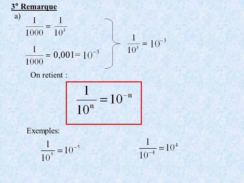 b) Exemple 2 : quotient