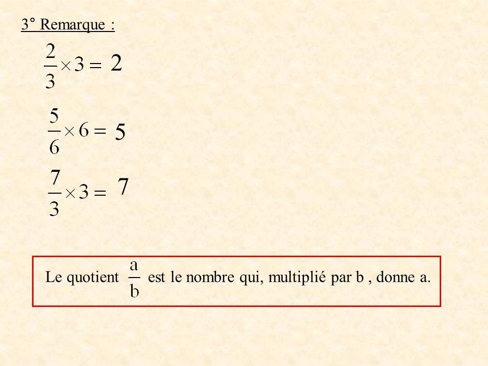 a) 75 1- 5 20, 4 - 2 0 0 La division sarrête,donc la valeur décimale exacte du quotient est 1,4 1,4 b) 7 3 2 - 6 10, 3 - 9 1 0 3 1 La division ne sarrête pas.